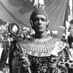 Christopher Lee as Kharis in The Mummy