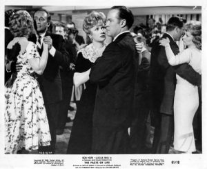 """Lucille Ball and Bob Hope dancing in """"The Facts of Life"""""""