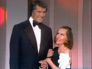 Lyle Waggoner and Gloria Swanson on the Carol Burnett Show