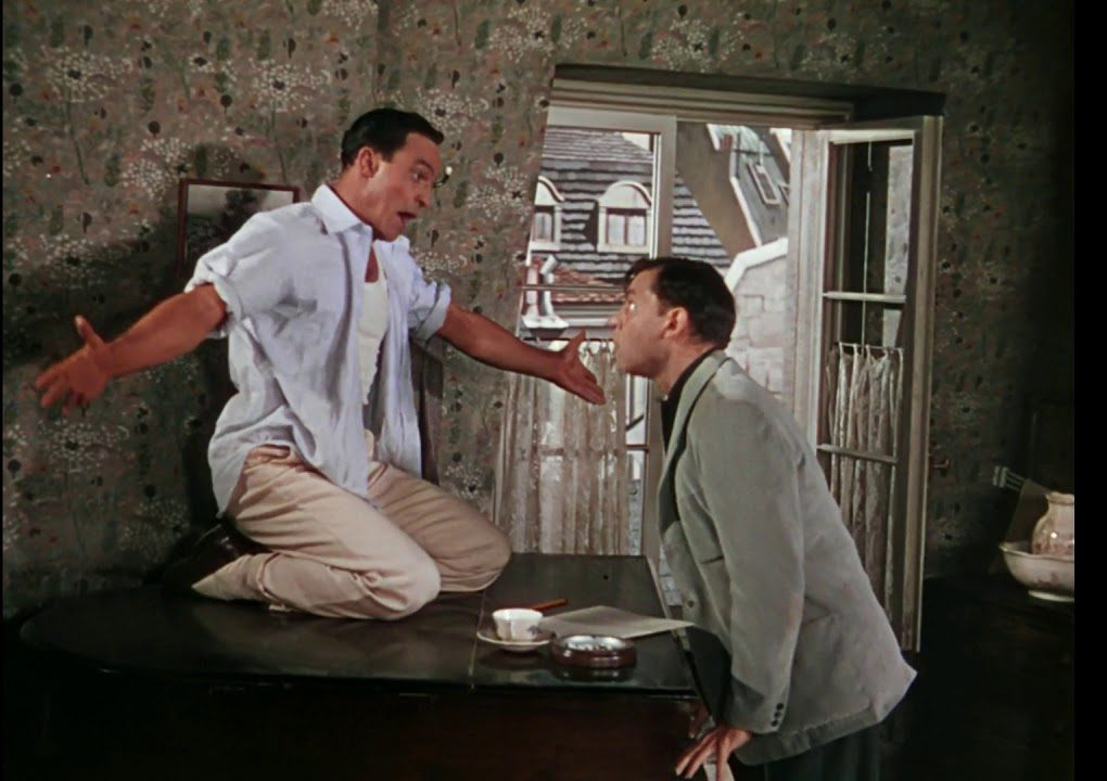 Song lyrics to Tra-la-la (This Time It's Really Love) Music by George Gershwin, Lyrics by Ira Gershwin, performed by Gene Kelly and Oscar Levant in An American in Paris