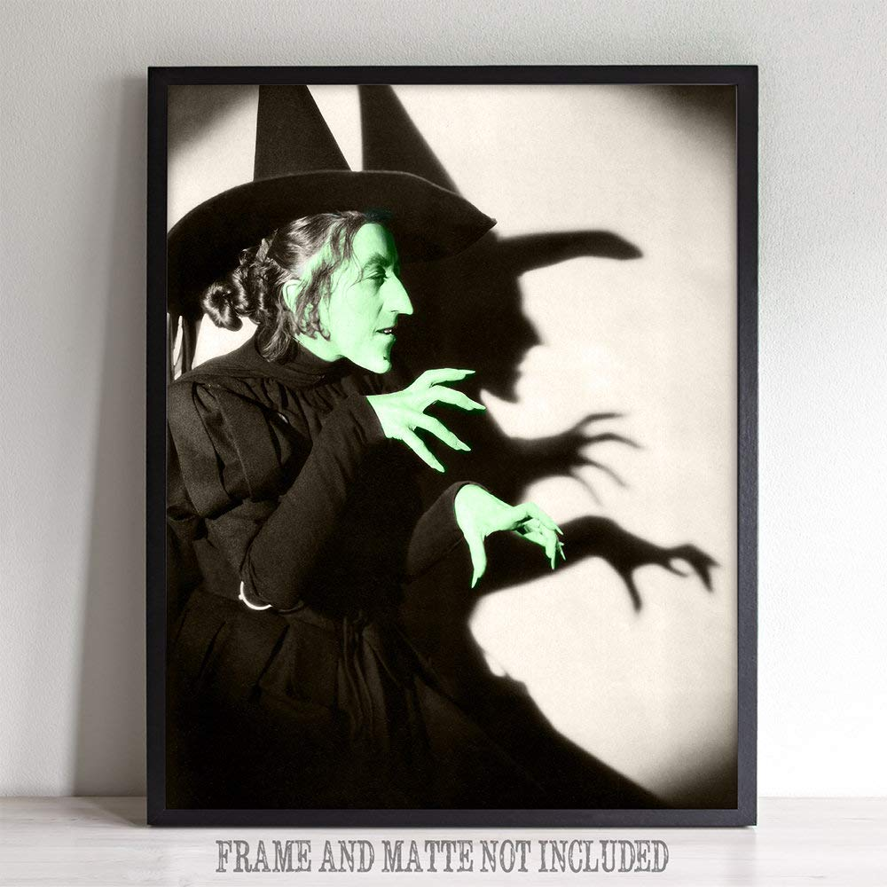 I'll get you, my pretty ... publicity photo of Margaret Hamilton as the Wicked Witch of the West