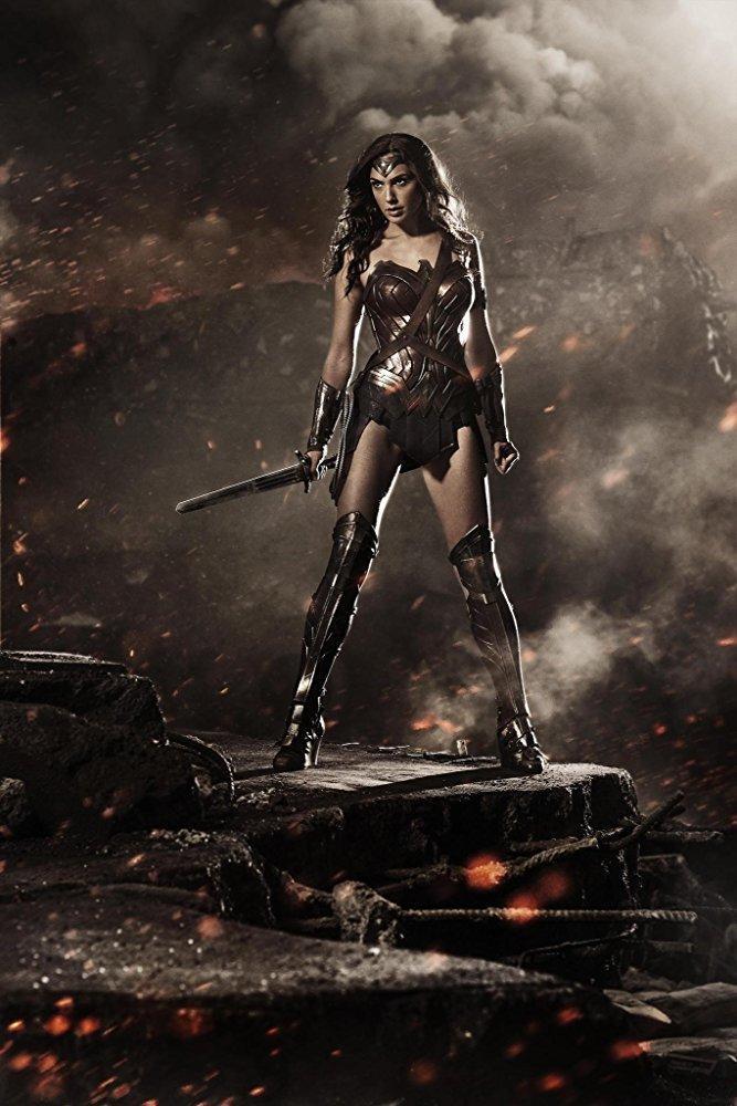 Gal Gadot as Wonder Woman in Batman V Superman : Dawn of Justice