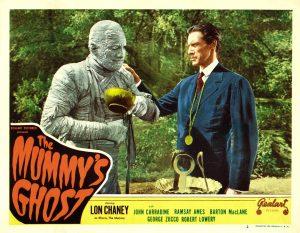 Lon Chaney Jr./Kharis the Mummy with John Carradine as the newest High Priest