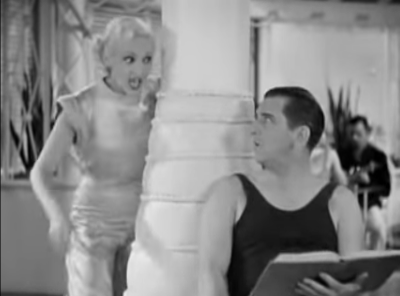 Song lyrics to Let's K-nock K-nees (1931) Music and Lyrics by Mack Gordon and Harry Revel, Song performed by Betty Grable and Edward Everett Horton in The Gay Divorcee