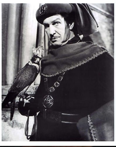 Vincent Price as the wicked Prince Prospero in The Masque of the Red Death