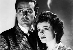 Ray Milland and Ruth Hussey in The Uninvited