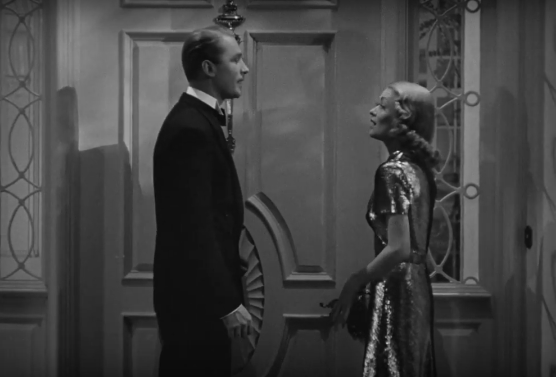 Brian Aherne & Constance Bennett in Merrily We Live