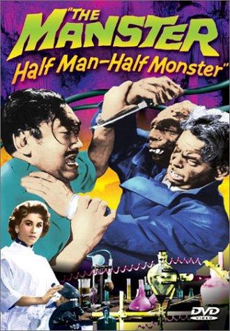 The Manster (1959) starring Peter Dyneley, Jane Hylton, Tetsu Nakamura, Terri Zimmern