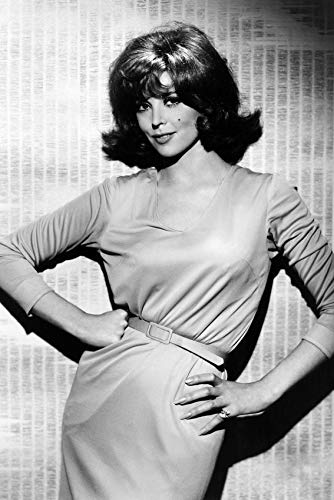 Tina Louise in a black and white glamour pose as Ginger Grant