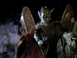 Bernie Casey as the leader of the Gargoyles