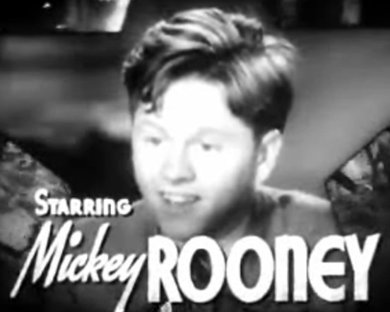 Starring Mickey Rooney