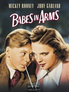 Babes in Arms (1939) starring Mickey Rooney, Judy Garland, directed by Busby Berkeley