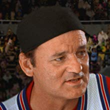 Headshot of Bill Murray in Space Jam