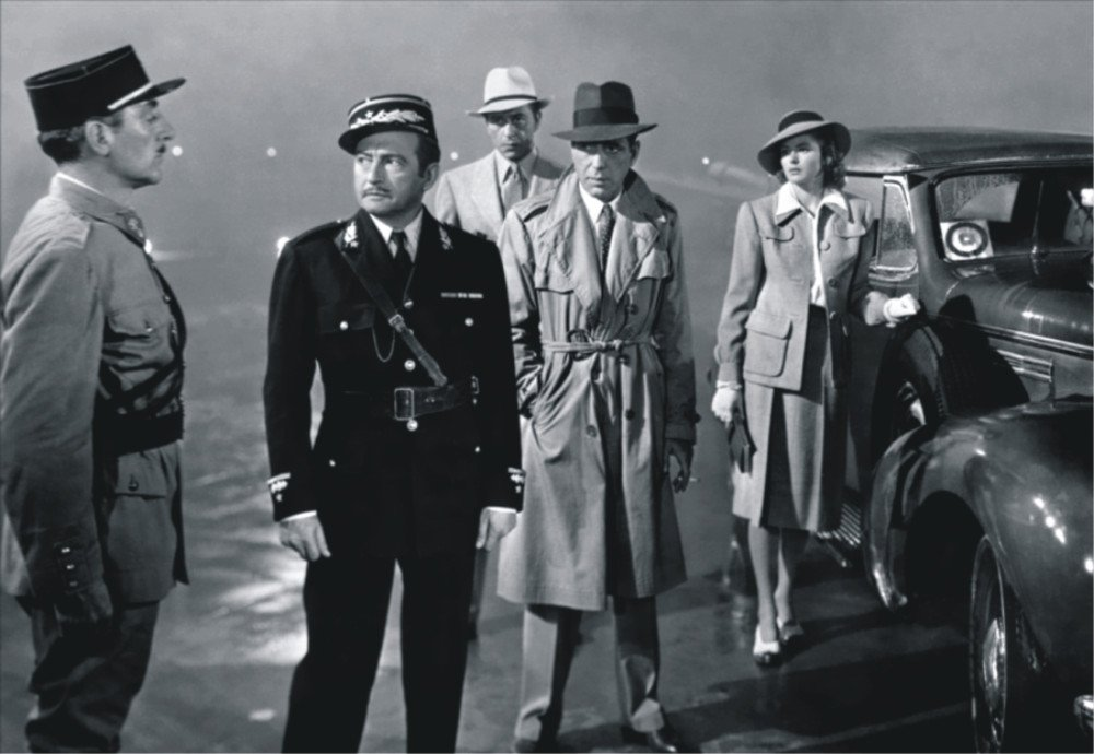 The conclusion of Casablanca - Major Strasser, Captain Renault, Rick Blaine, Ilsa Lund, Victor Laszlo - who escapes and who lives?