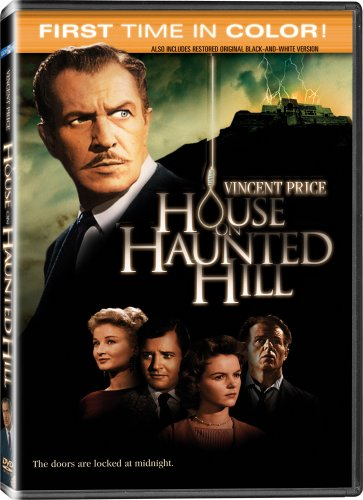The House on Haunted Hill (1958) starring Vincent Price, Carol Ohmart, Richard Long, Alan Marshal, Carolyn Craig, Elisha Cook Jr., Julie Mitchum, Leona Anderson, Howard Hoffman