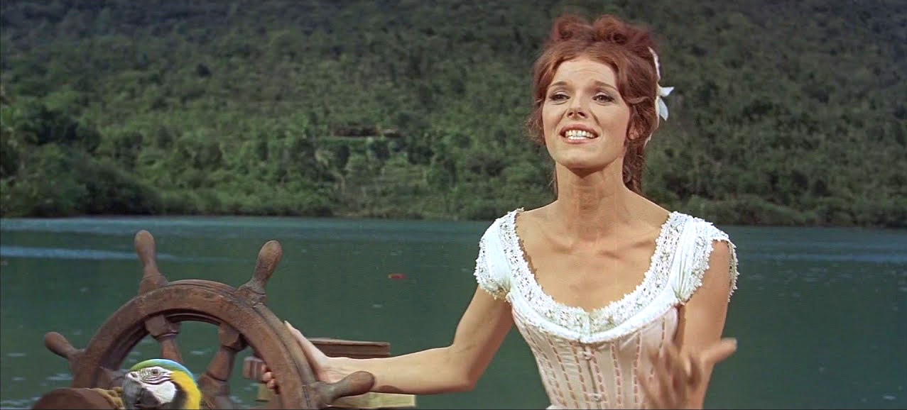 Song lyrics to I Think I Like You, Written by Leslie Bricusse, Performed by Rex Harrison, Samantha Eggar with vocal by Diana Lee in Doctor Dolittle