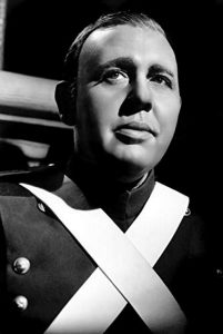 Charles Laughton as Javert - the merciless, relentless, uncompromising police inspector