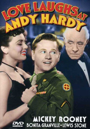 Love Laughs at Andy Hardy (1946) starring Mickey Rooney, Bonita Granville, Dorothy Ford, Lewis Stone