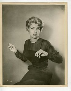 Photo of Lugene Sanders as Meg Hubbard.  Tom's fianceé