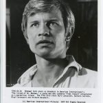 Michael York as the shipwrecked Braddock in The Island of Doctor Moreau