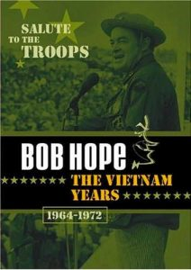 DVD review of Salute to the Troops - Bob Hope -the Vietnam Years - 9 hours of Bob Hope's annual salute to the American military