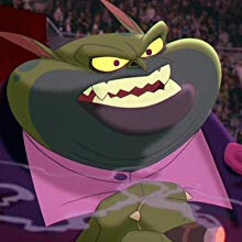 Headshot of Swackhammer (voiced by Danny Devito) the villain in Space Jam