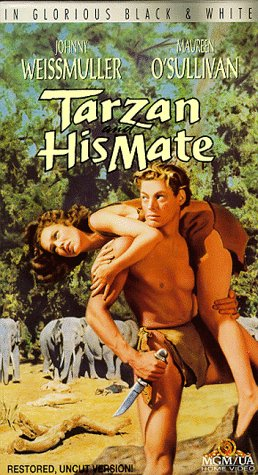 Tarzan and His Mate (1934) starring Johnny Weissmuller, Margaret O'Sullivan, Neil Hamilton, Paul Cavanagh