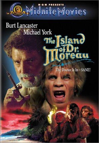 The Island of Dr Moreau (1977) starring Michael York, Burt Lancaster, Nigel Davenport, Barbara Carrera, Richard Basehart