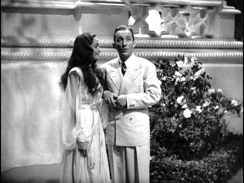 Song lyrics to Moonlight Becomes You (1942) lyrics by Johnny Burke, music by Jimmy Van Heusen, performed by Bing Crosby in Road to Morocco