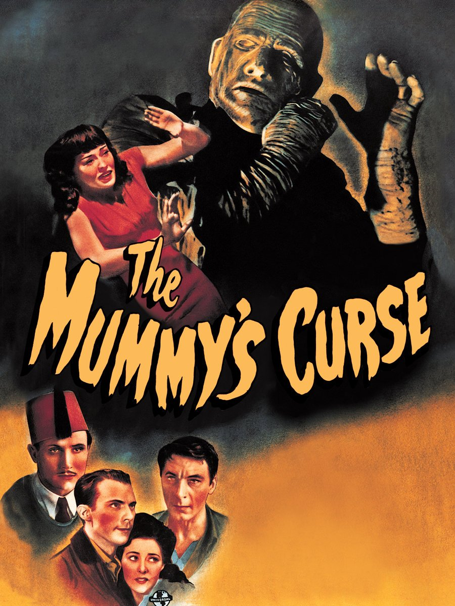 The Mummy's Curse (1944) starring Lon Chaney Jr., Virginia Christine, Dennis Moore, Peter Coe, Kay Harding, Martin Kosleck