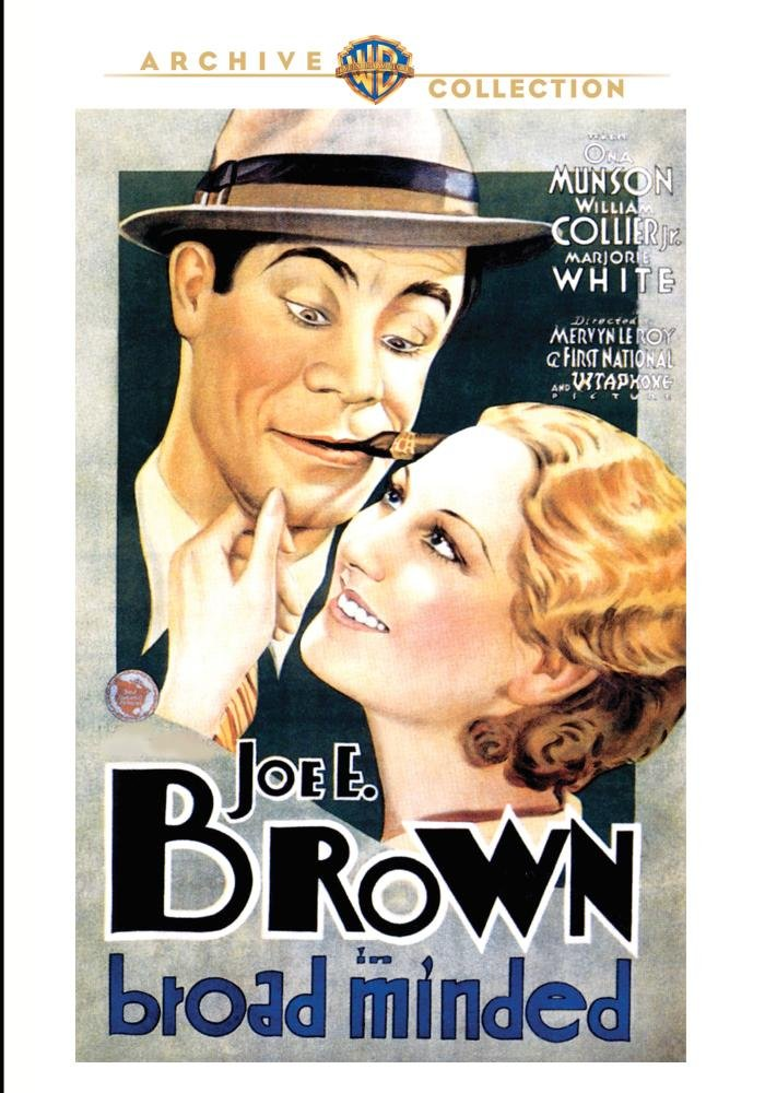 Broadminded (1931) starring Joe E. Brown, William Collier Jr., Bela Lugosi, Ona Munson, Thelma Todd, Marjorie White
