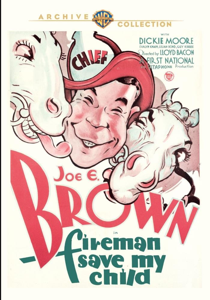 Fireman Save My Child (1932) starring Joe E. Brown, Evalyn Knapp, Lilian Bond, Guy Kibbee