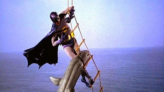 Holy Bat-shark repellent, Batman!.