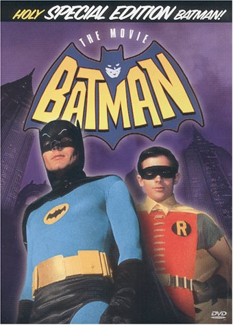 Batman - The Movie (1966) starring Adam West, Burt Ward, Cesar Romero, Frank Gorshin, Lee Meriwether, Burgess Meredith