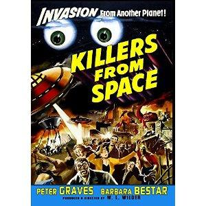 Killers From Space (1954) starring Peter Graves