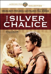 The Silver Chalice, starring Paul Newman, Pier Angeli, Virginia Mayo, Jack Palance