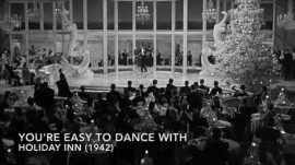 Song lyrics to You're Easy to Dance With (1942). Music and Lyrics by Irving Berlin. Sung by Fred Astaire and chorus in Holiday Inn