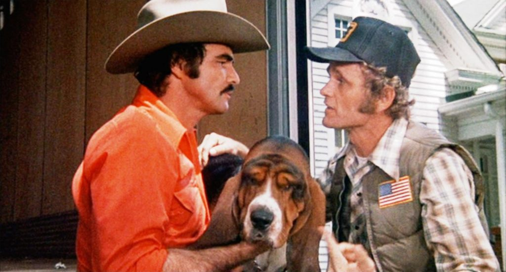 Burt Reynolds and Jerry Reed in Smokey and the Bandit