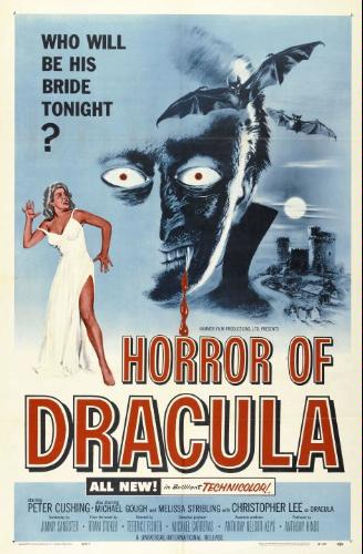 Horror of Dracula poster