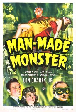 Man Made Monster (1941), starring Lionel Atwill, Lon Chaney Jr.