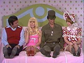 Harvey Korman, Carol Burnett, Lyle Wagonner, Vicki Lawrence in the Barby and Ben skit on The Carol Burnett Show