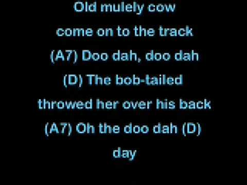 Song lyrics to Camptown Races (1850) by Stephen Foster