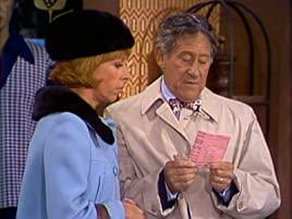 Carol Burnett and Jack Gilford on The Carol Burnett Show