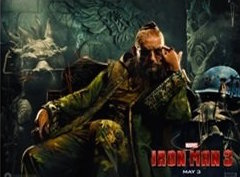 The Mandarin (Ben Kingsley) is the villain in Iron Man 3 … or is he?