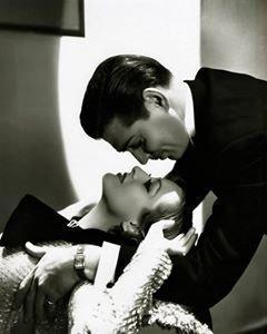 Joan Crawford and Clark Gable in Possessed