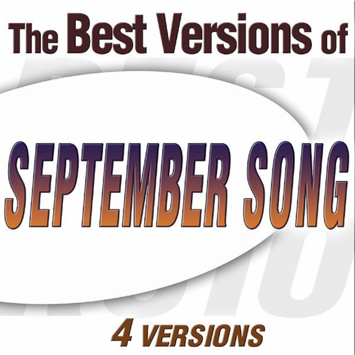 September Song was specially written by composer Kurt Weill and lyricist Maxwell Anderson for Walter Huston, for the Broadway show Knickerbocker Holiday in 1938