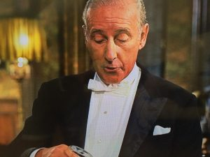 Wilfrid Hyde-White as Colonel Hugh Pickering in My Fair Lady