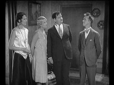 Mae Bush, Thelma Todd, Oliver Hardy, Stan Laurel