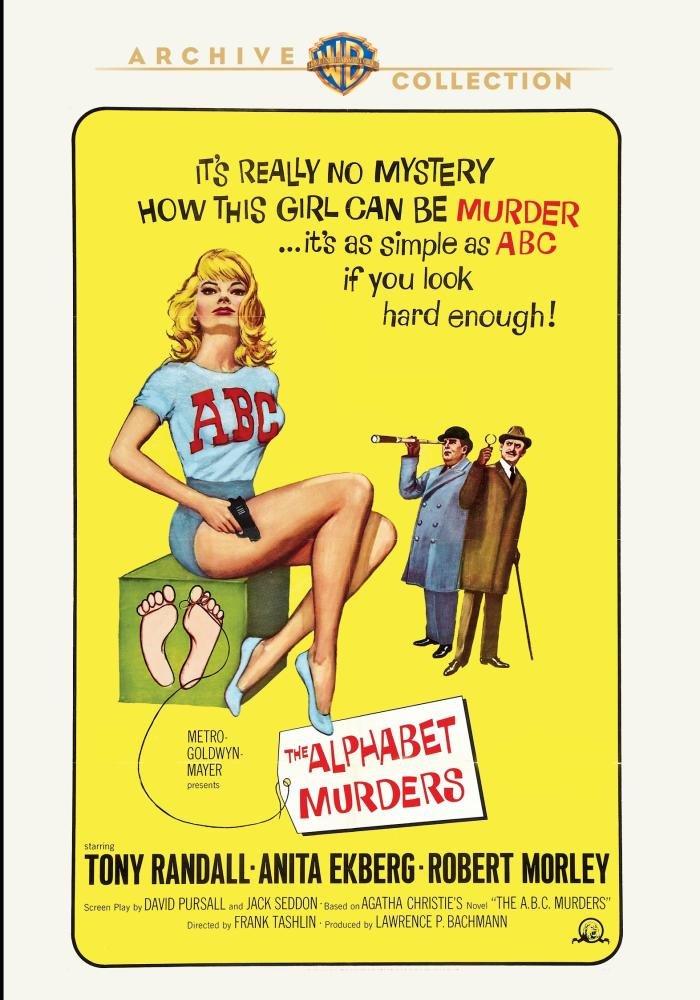 The Alphabet Murders (1965) starring Tony Randall, Robert Morley, Anita Ekberg