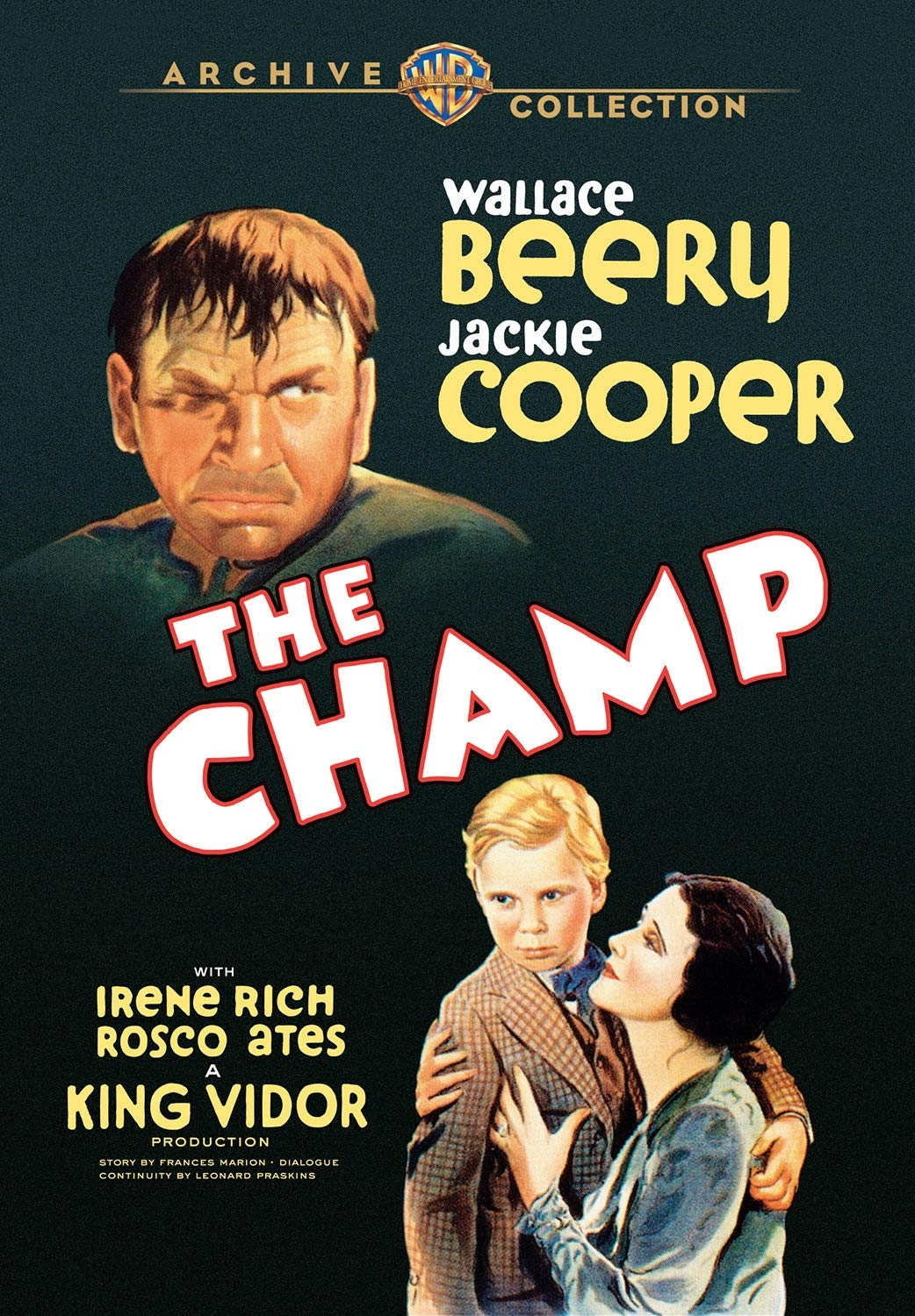 The Champ (1931) starring Wallace Beery, Jackie Cooper